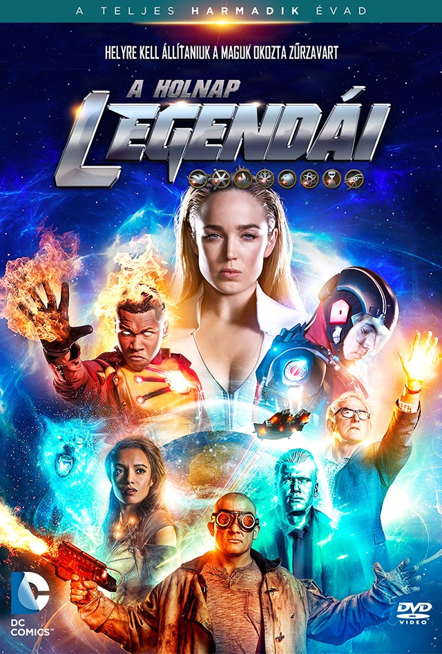 A holnap legendái (DC Legends of Tomorrow) 3. évad